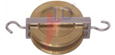 PULLEY-DOUBLE PARALLEL BRASS